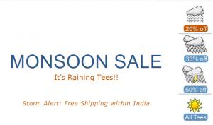 The Big Bad Monsoon Sale @ Inkfruit