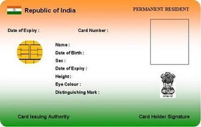 Aadhaar UID Card