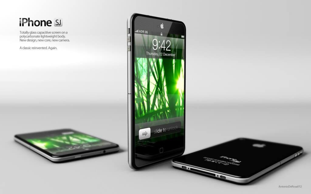 iPhone 5 SJ Concept Design