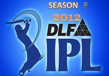 IPL Season 5 - 2012