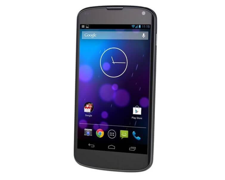 Galaxy Nexus 4