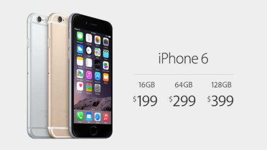 iPhone6 price
