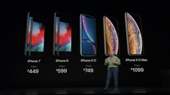 iphone 2018 all models pricing