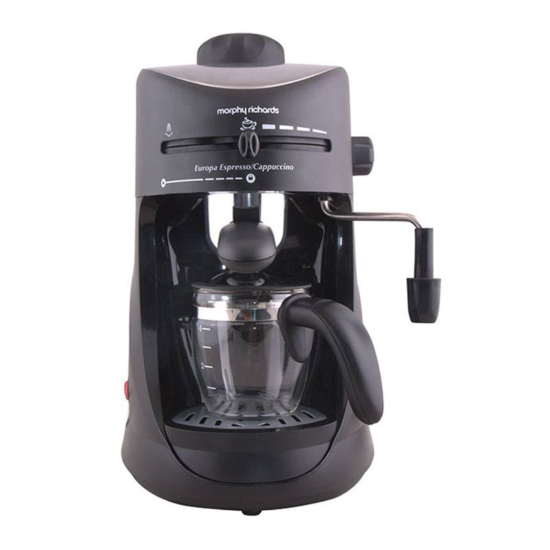 murphy richards coffee maker
