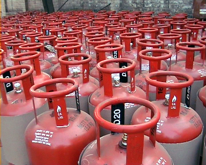 indian gas cylinder booking